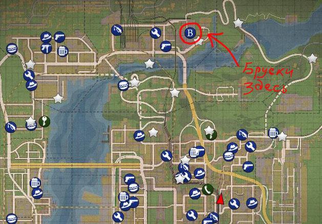 Карта Бруски Mafia 2