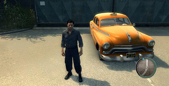 Новое оранжевое такси для Mafia 2
