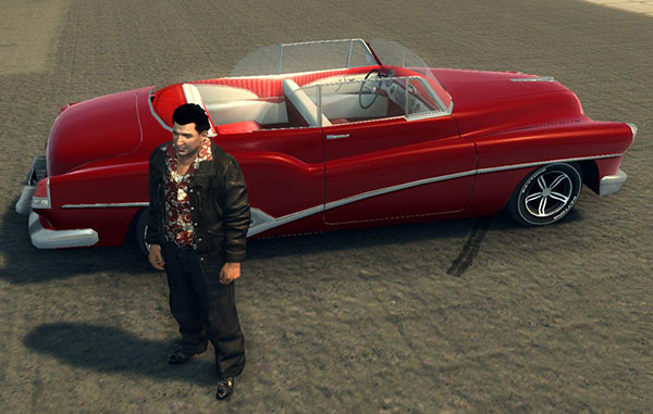 Кабриолет для Mafia 2