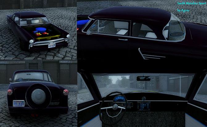 Новая спортивная машина Mafia 2