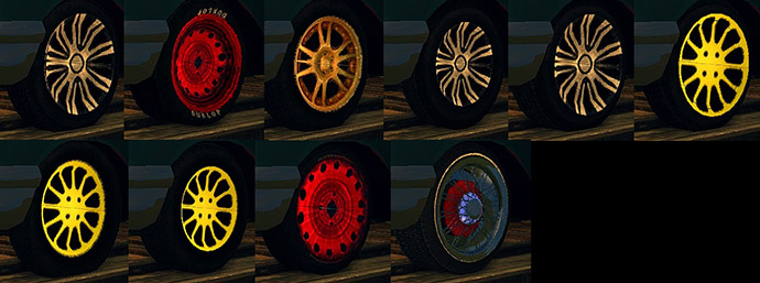 колеса Mafia 2