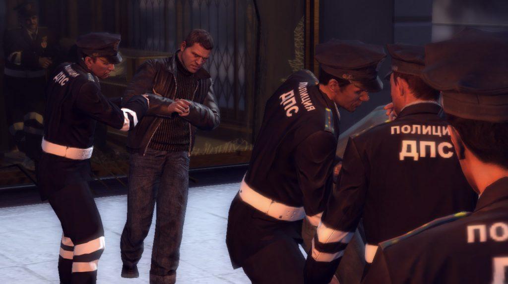 Русские полицейские в Mafia 2