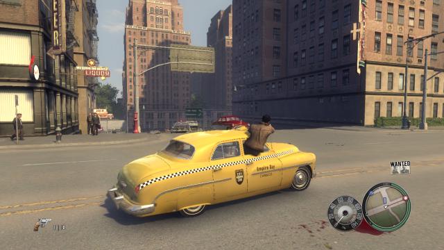 Стрельба из машины в Mafia 2 мод