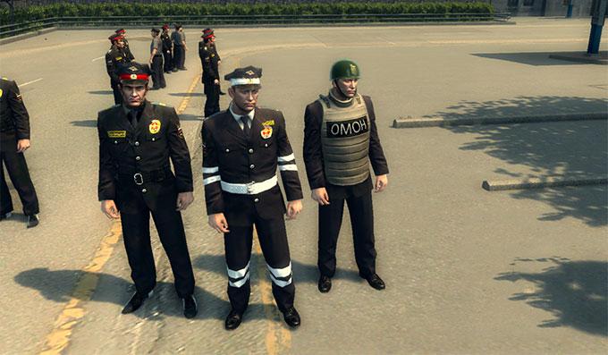 Русские полицейские