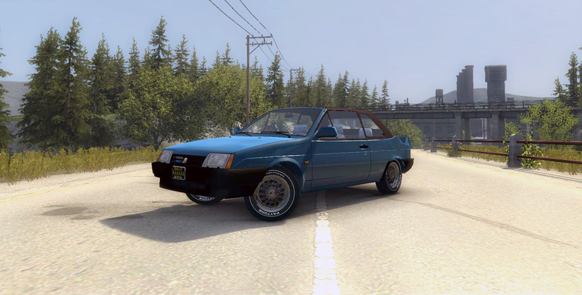 Машина Ваз 2108 для Mafia 2