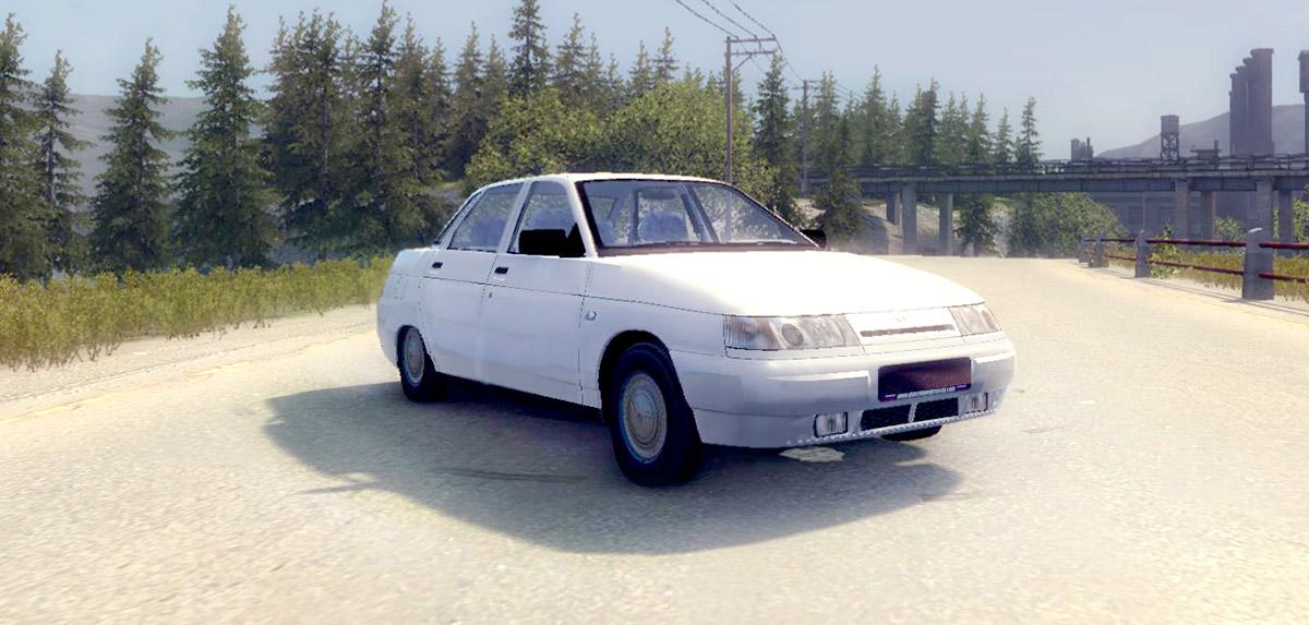 Машина Ваз 2110 ЛАДА для Mafia 2