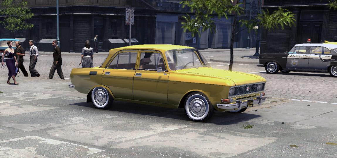 Машина Москвич 2140 для Mafia 2