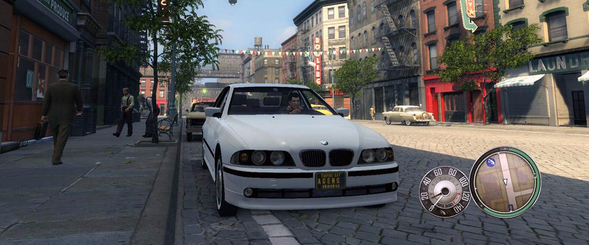 Машина BMW 530d e39 для Mafia 2
