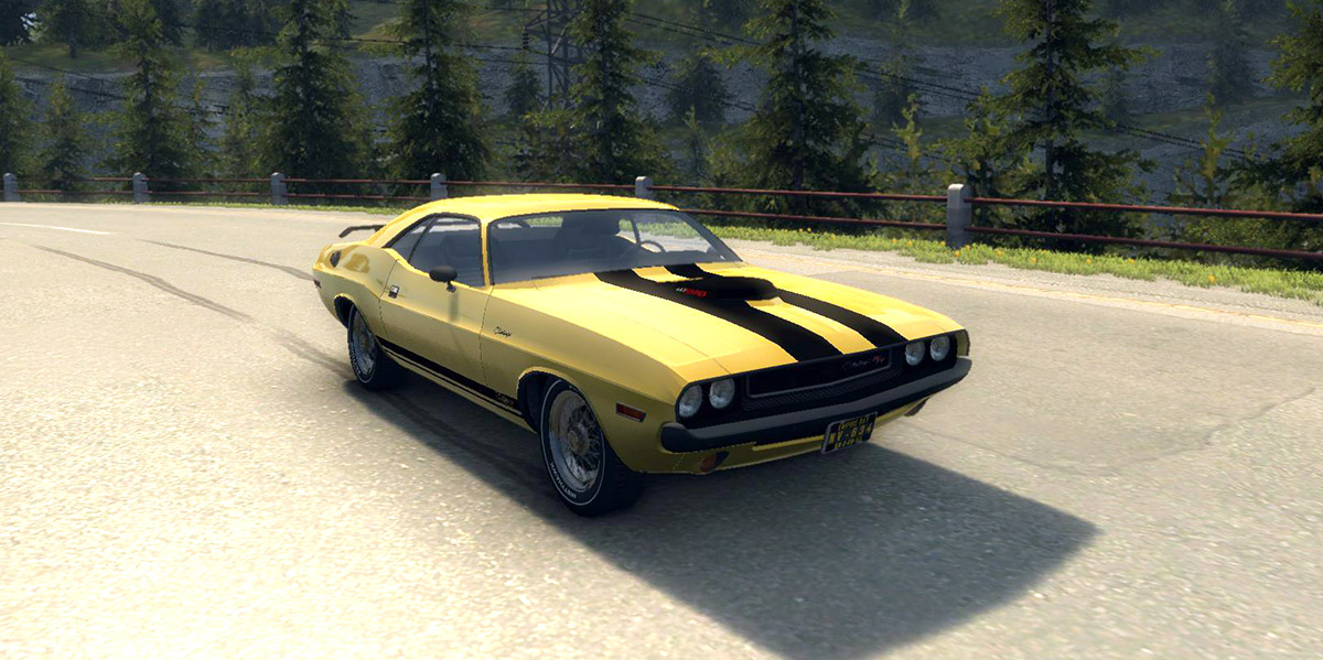 Машина Dodge Challenger RT 440 1970 для Mafia 2