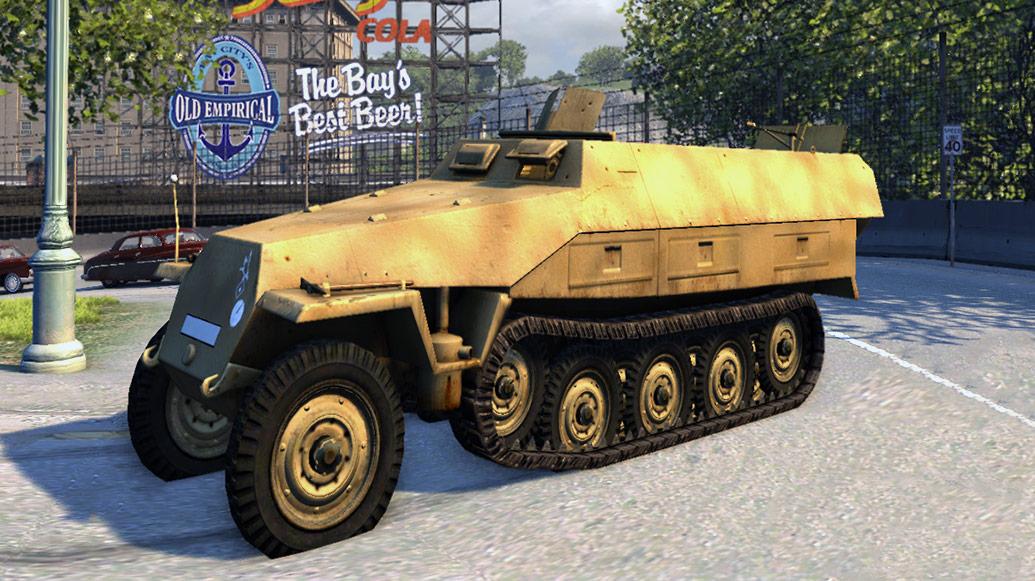 Немецкий бронетранспортер Mafia 2