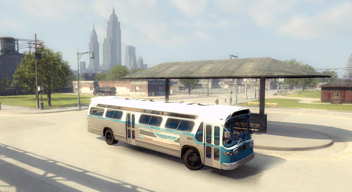 Новый автобус для Mafia 2
