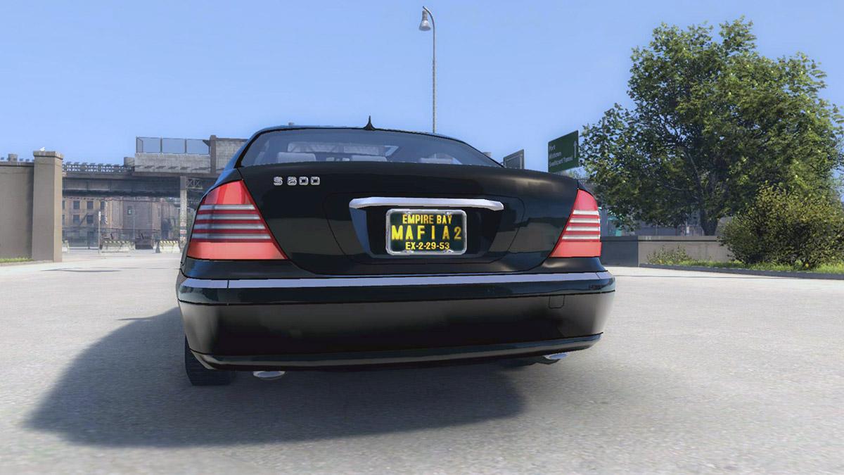 Mercedes-Benz S600 (W220) для Mafia 2