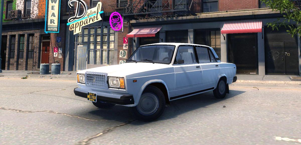 ВАЗ 2107 для Mafia 2