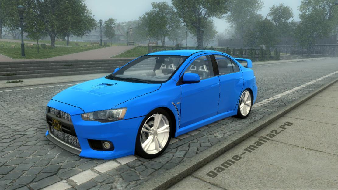 Mitsubishi Lancer Evolution для Mafia 2
