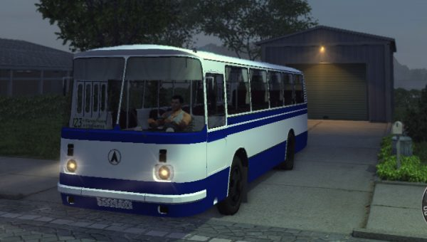 Русский автобус в Mafia 2