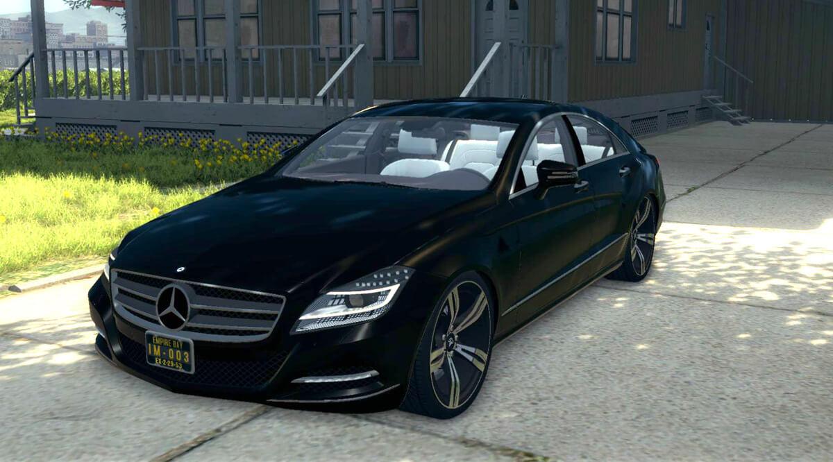 Mercedes-Benz CLS 63 AMG для Mafia 2