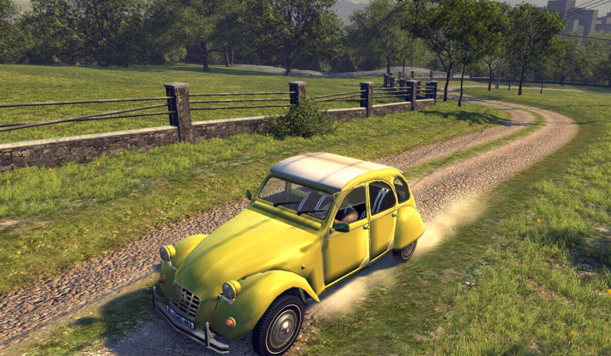 Citroen 2CV для Mafia 2