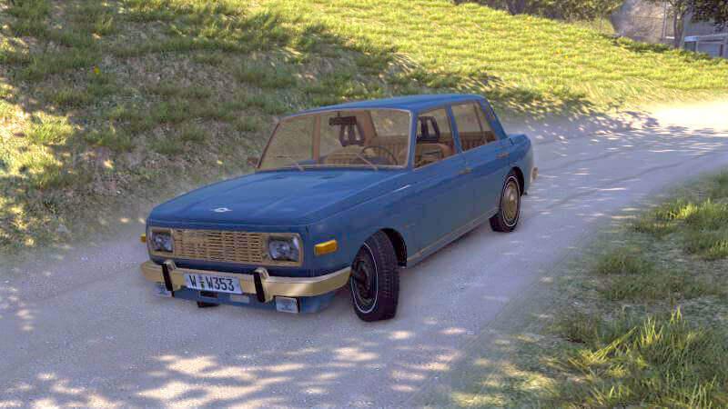 Wartburg-353-W для Mafia 2
