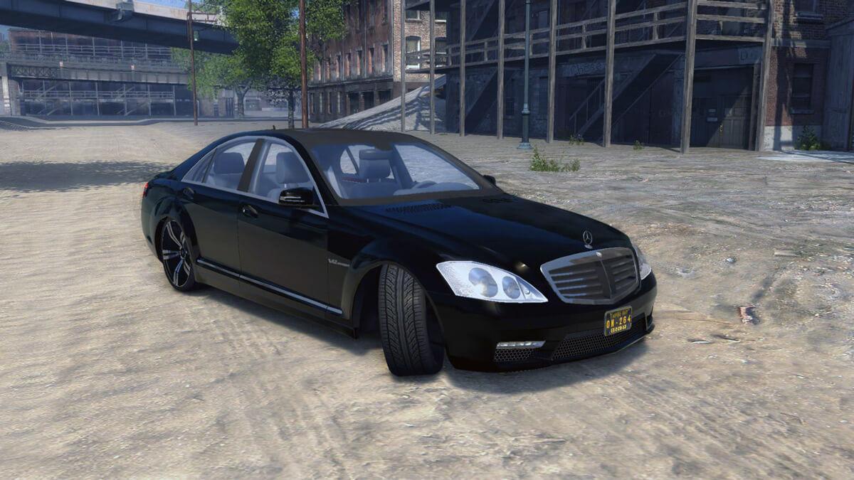 Mercedes-Benz S65 AMG 2011 (w221) для Mafia 2