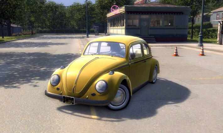 Volkswagen Beetle для Mafia 2