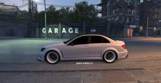 Mercedes-Benz C 63 AMG для Mafia 2