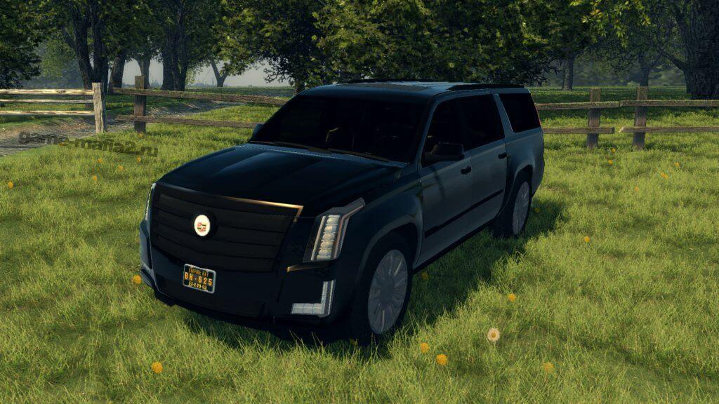 Cadillac Escalade IV ESV Platinum Mafia 2
