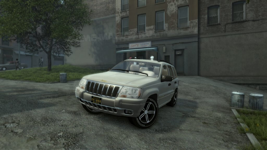 Jeep Grand Cherokee WJ Mafia 2