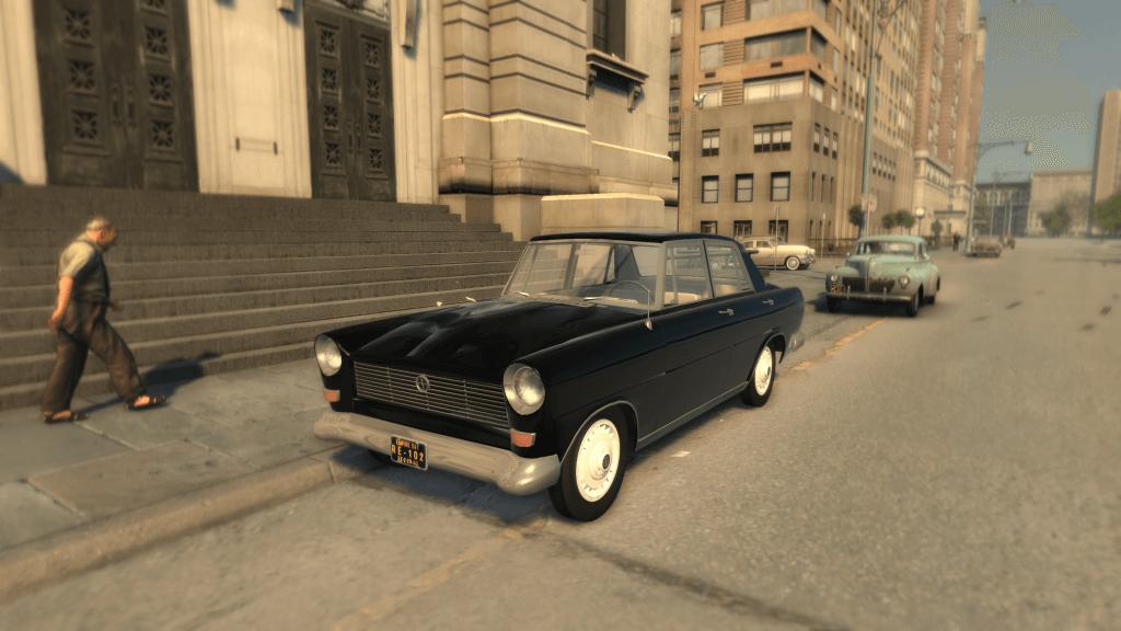 Warszawa Ghia Sedan