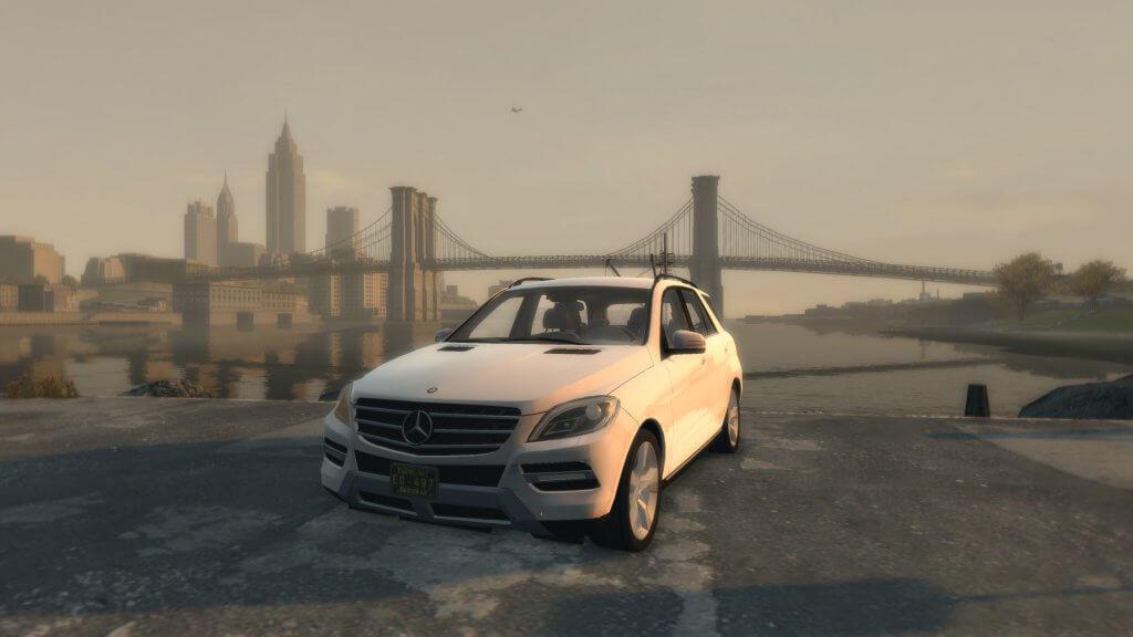 Mercedes ML 63 AMG Mafia 2